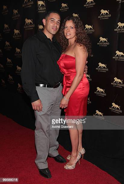 Chairman of the Mashantucket Pequot Tribal Council Rodney A Butler and wife attend the 2nd Anniversary celebration at MGM Grand at Foxwoods on May 15...