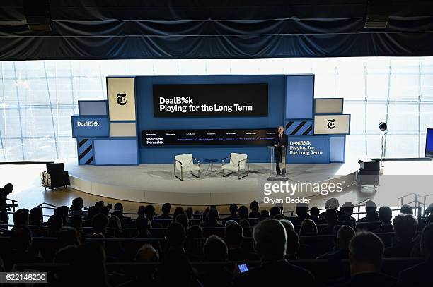 Chairman of The New York Times; Publisher of The New York Times Arthur Ochs Sulzberger, Jr. Speaks at The New York Times DealBook Conference at Jazz...
