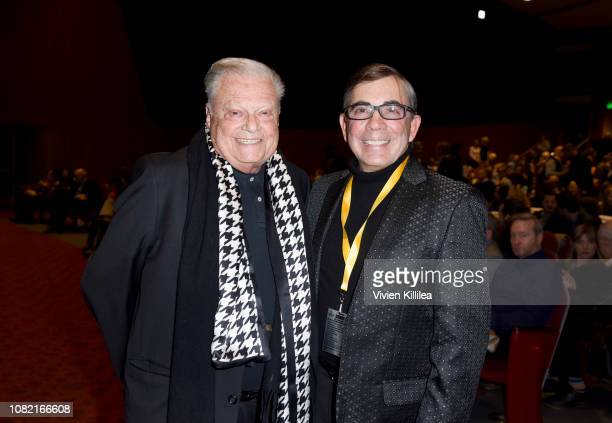 Executive director of the Palm Springs International Film Festival Harold Matzner and Mayor of Palm Springs Robert Moon attend the Closing Night...