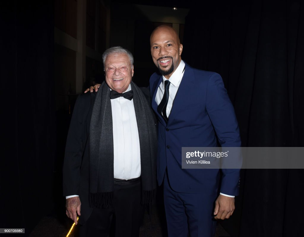 Chairman of the Palm Springs International Film Festival Harold Matzner and Common attend the 29th Annual Palm Springs International Film Festival at Palm Springs Convention Center on January 2, 2018 in Palm Springs, California.