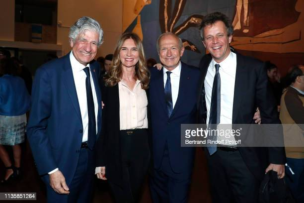 Chairman of the Publicis Supervisory Board Maurice Levy Sophie Agon her husband Chairman Chief Executive Officer of L'Oreal and Chairman of the...