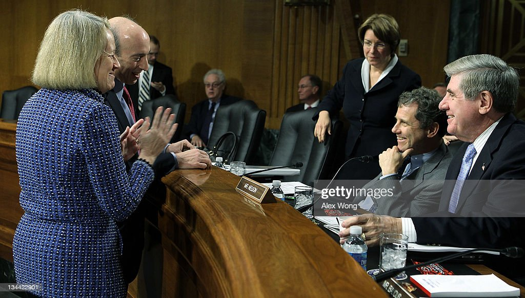 SEC Chair Mary Schapiro Testifies At Senate Agriculture Hearing On Commodities Trading
