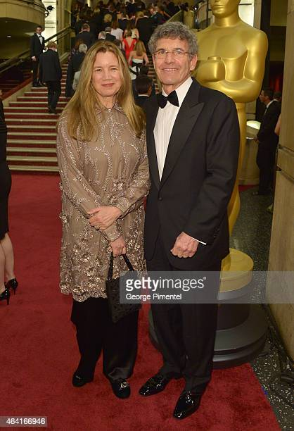 Chairman of The Walt Disney Studios Alan Horn and Cindy Horn attend the 87th Annual Academy Awards at Hollywood Highland Center on February 22 2015...