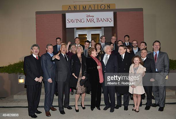 Chairman of the Walt Disney Studios Alan Horn Chairman and Chief Executive of The Walt Disney Company Bob Iger actors Tom Hanks Emma Thompson Julie...