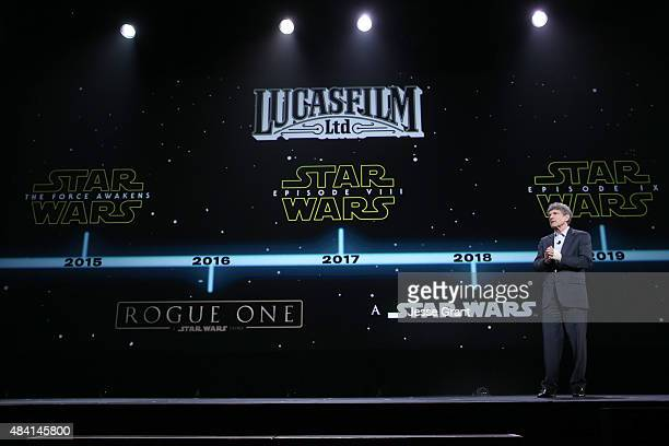 Chairman of the Walt Disney Studios Alan Horn took part today in Worlds Galaxies and Universes Live Action at The Walt Disney Studios presentation at...