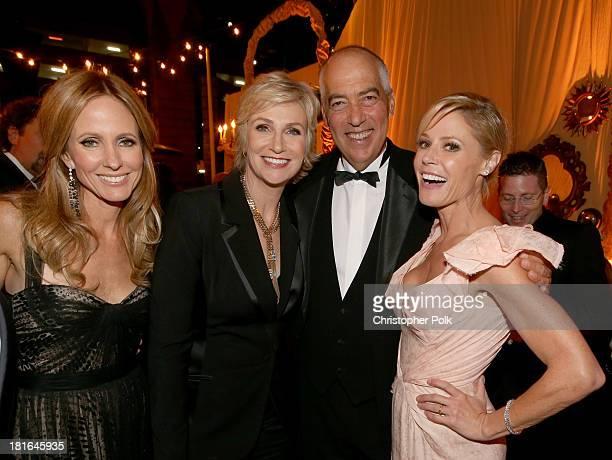 Chairman of Twentieth Century Fox Television Dana Walden actress Jane Lynch Chairman of Twentieth Century Fox Television Gary Newman and actress...