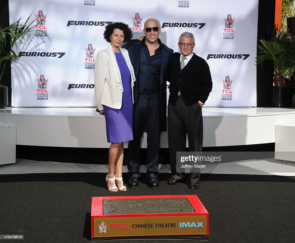 Vin Diesel Hand/Footprint Ceremony At TCL Chinese Theatre