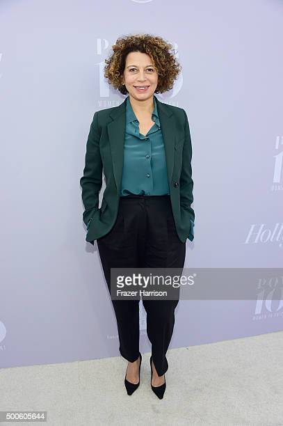 Chairman of Universal Pictures Donna Langley attends the 24th annual Women in Entertainment Breakfast hosted by The Hollywood Reporter at Milk...