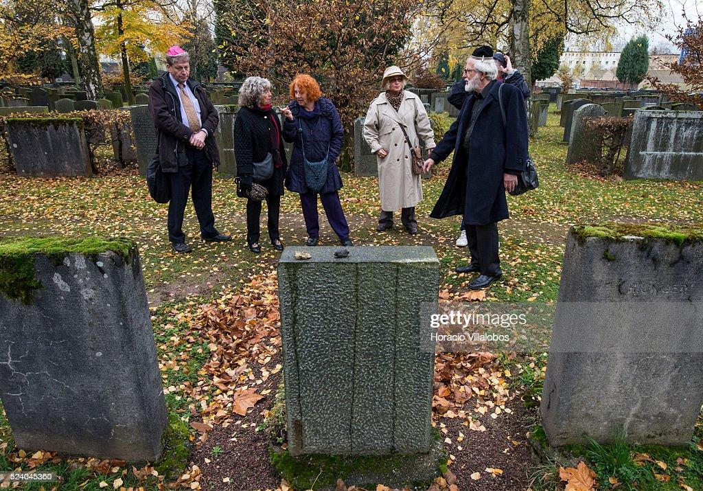 Rolf Frankfurt germany 75th anniversary of kristallnacht in frankfurt pictures