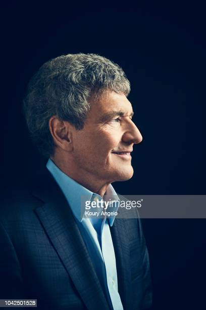 Chairman of Walt Disney Studios Alan Horn is photographed for People Magazine on July 25 2017 at D23 Expo in Los Angeles California