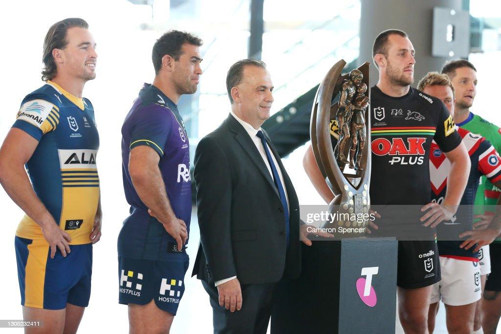 2021 NRL Premiership Season Launch : News Photo
