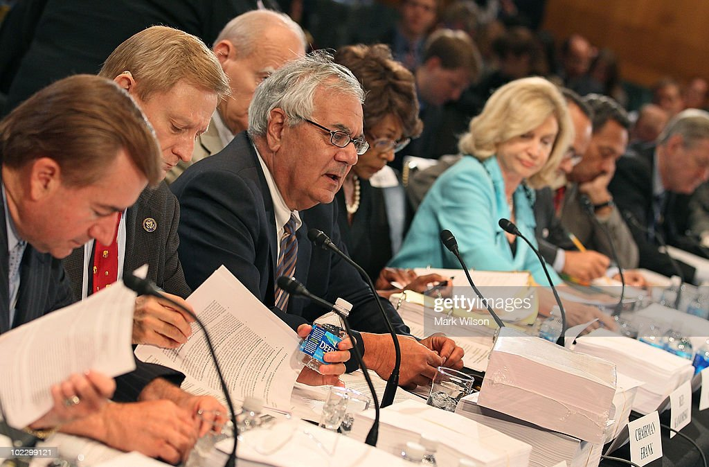 Senate House Conf. Committee Meets On Wall Street Reform