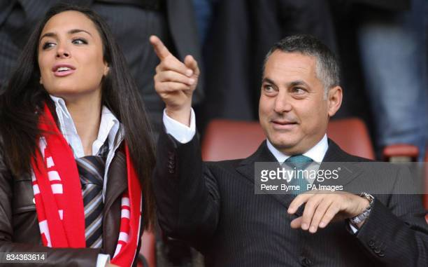 DIC chairman Sameer Al Ansari during the UEFA Champions League Semi Final First Leg match at Anfield Liverpool