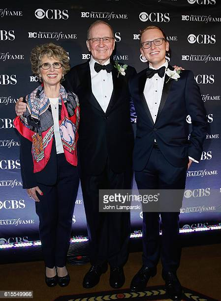 Chairman Sucherman Group Stuart Sucherman is accompanied by Betsy Sucherman and David Sucherman at the 2016 Broadcasting Cable Hall of Fame 26th...