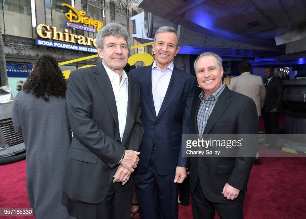 Chairman The Walt Disney Studios Alan Horn The Walt Disney Company Chairman and CEO Bob Iger and Walt Disney Studios President Alan Bergman attend...