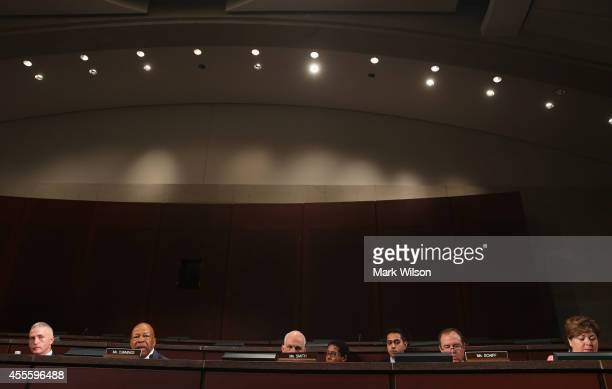 Chairman Trey Gowdy and Rep Elijah Cummings and other members listen to testimony during a House Select Committee on the Events Surrounding the 2012...