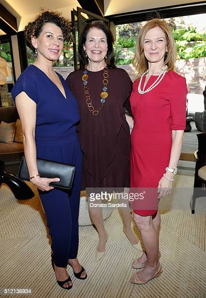Chairman Universal Pictures Donna Langley President Founder Sherry Lansing Foundation Sherry Lansing and CEO AMPAS Dawn Hudson attend the 3rd Annual...
