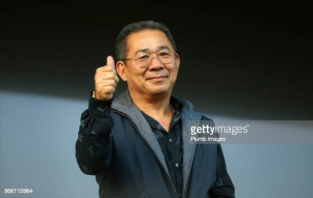 Chairman Vichai Srivaddhanaprabha of OH Leuven during the Belgian First Division A Europa League Playoff tie between OH Leuven and KV Kortrijk at Den...