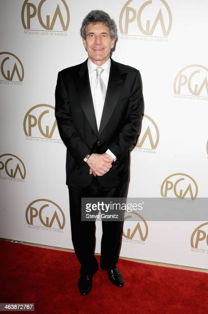 Chairman Walt Disney Studios Alan Horn attends the 25th annual Producers Guild of America Awards at The Beverly Hilton Hotel on January 19 2014 in...