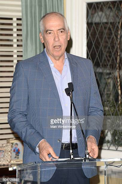 "Chairman/CEO of Fox Television Group Gary Newman attends the 100th episode celebration of ABC's ""Last Man Standing"" at CBS Studios - Radford on..."