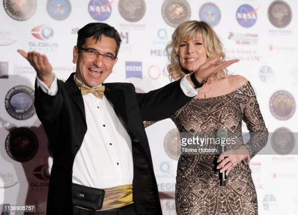 Chairman/CEO SBMT President of Brain Mapping Foundation Dr Babak Kateb and American singer author and actress Debby Boone attend the 16th annual...
