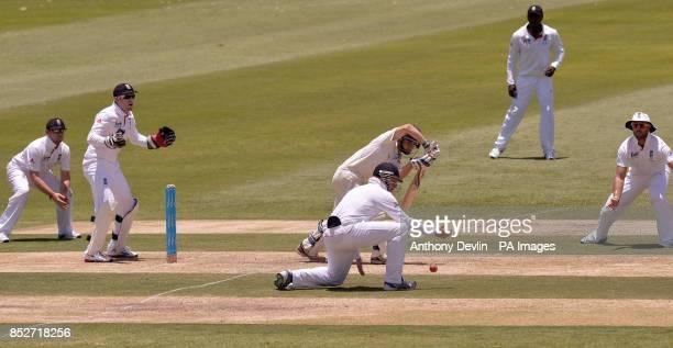 Chairman's XI's Jake Doran bats during the tour match at Traeger Park Alice Springs Australia