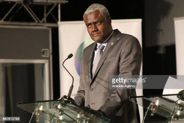 Chairperson of the African Union Commission HE Moussa Faki Mahamat President of the European Council Donald Tusk European Commission President...