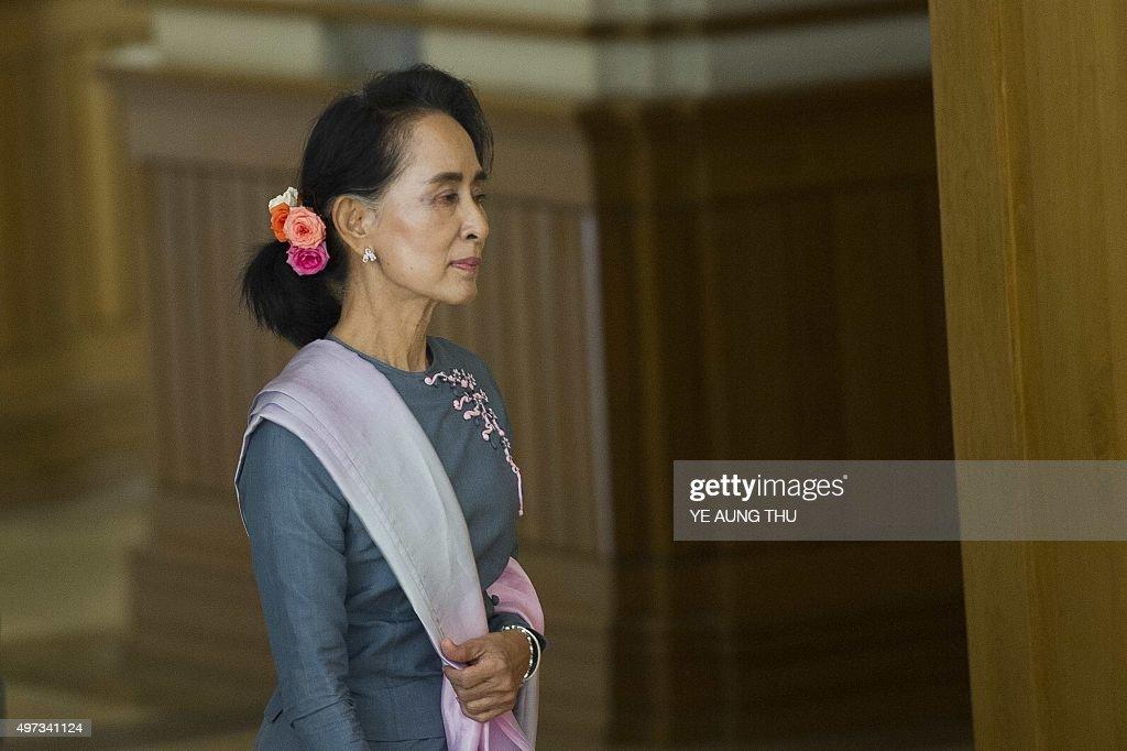 MYANMAR-POLITICS-ELECTION : News Photo