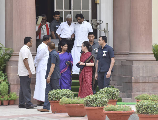 IND: UPA Chairperson Sonia Gandhi Chair Meeting Of Allies And Opposition Parties