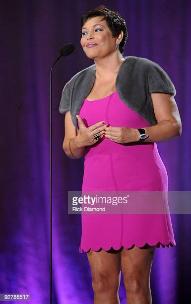 Chairperson/CEO BET Networks Debra Lee at the 2009 Soul Train Awards at the Georgia World Congress Center on November 3 2009 in Atlanta Georgia