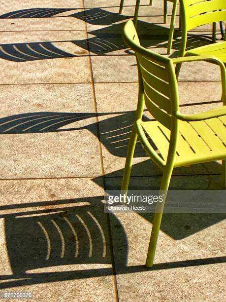 Chairs and shadows.  Texas