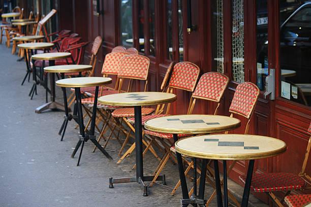 City Love Affair Pictures Getty Images - Paris cafe table