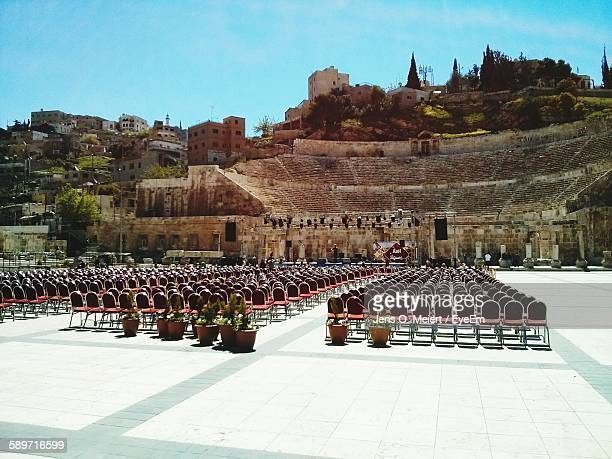 Chairs At Roman Theatre
