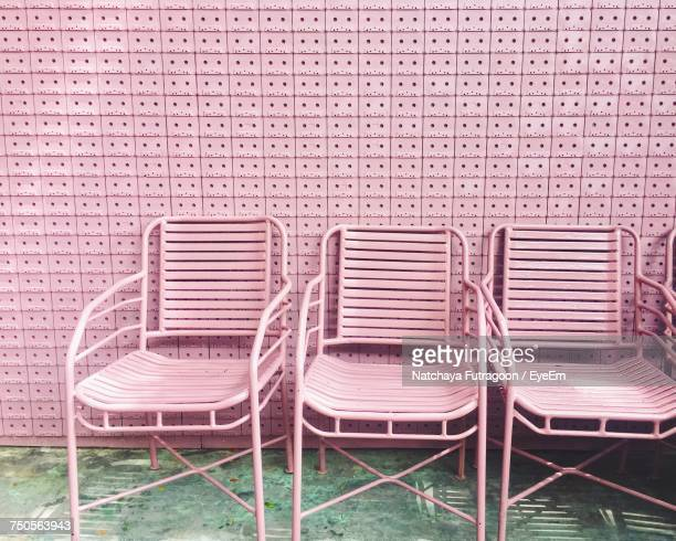 Chairs By Wall