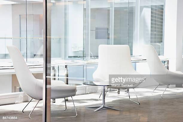 Chaises de bureau moderne du hall