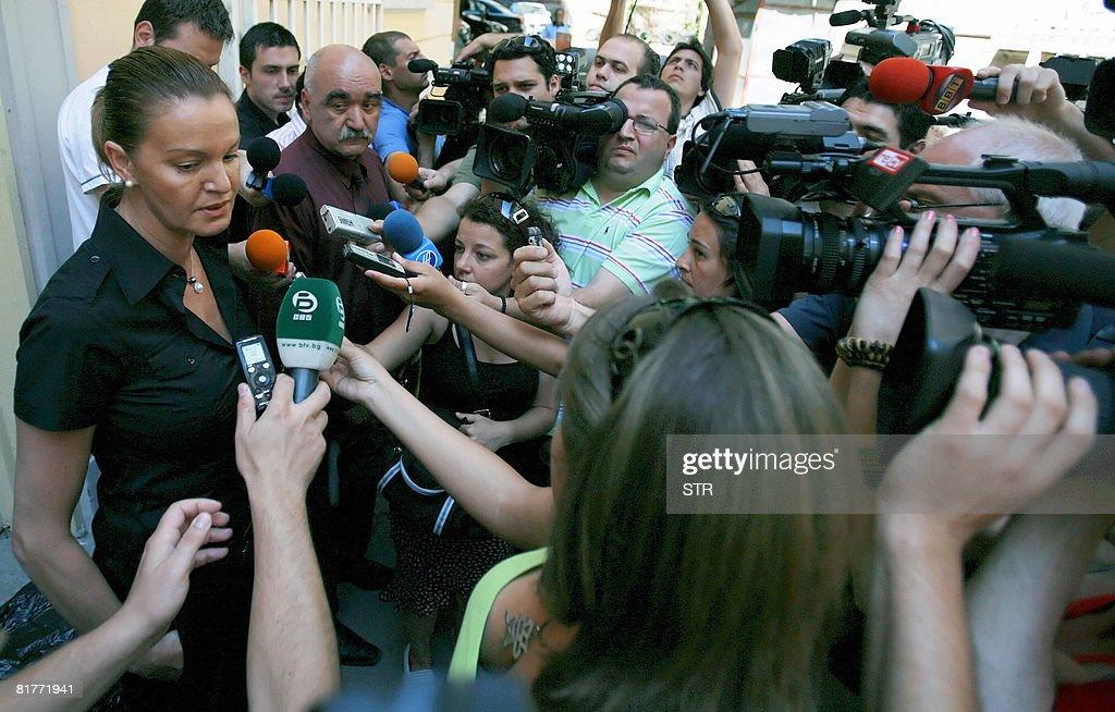 Chairwoman of Bulgarian Olympic Federati : News Photo