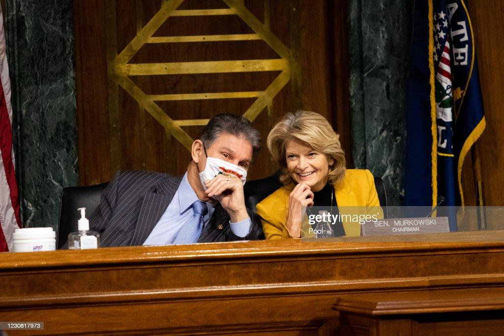 Senate Committee Hears Testimony From Energy Secretary Nominee Jennifer Granholm : ニュース写真
