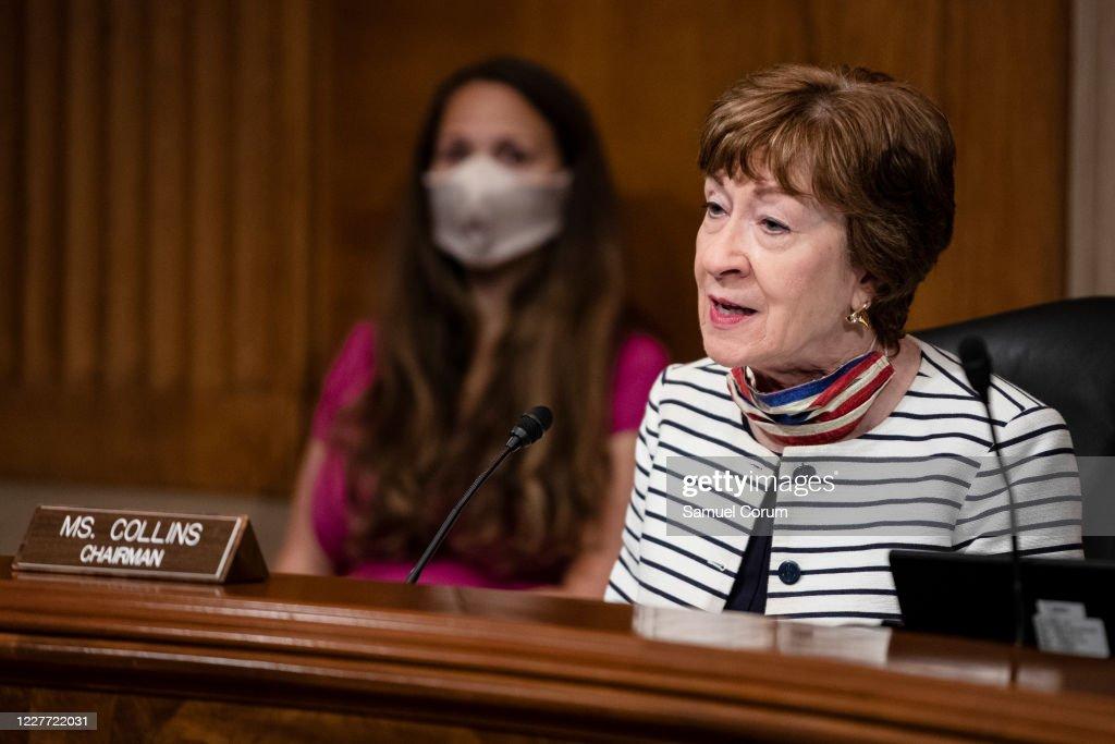 Senate Aging Committee Examines Racial Disparities In Results Of Coronavirus On Senior Citizens : News Photo