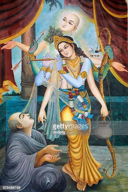 Chaityana Mahaprahbu a 15th century Vaishnava saint and social reformer Vaishnava means venerating Vishnu or Krishna