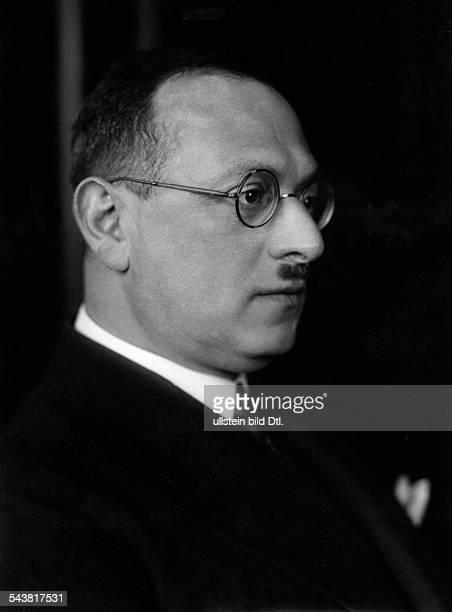Chajes, Benno *1880-1939+Arzt, Dermatologe- 1932