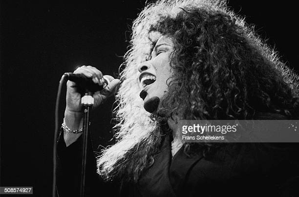 Chaka Kahn, vocal, performs at the North Sea Jazz Festival in the Hague, Netherlands on 7th July 1993.