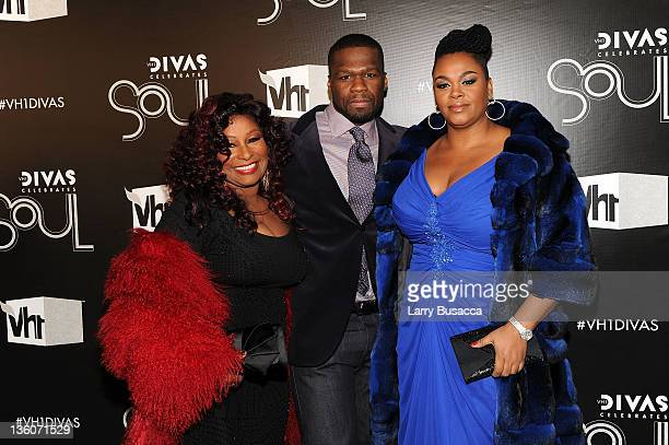 Chaka Khan 50 Cent and Jill Scott attend VH1 Divas Celebrates Soul at Hammerstein Ballroom on December 18 2011 in New York City