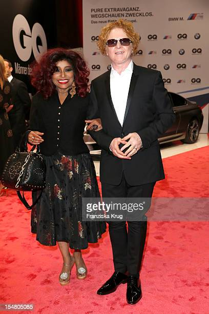 Chaka Khan and Mick Hucknall arrive at the 'GQ Maenner des Jahres 2012' at Komische Oper Berlin on October 26 2012 in Berlin Germany