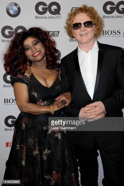 Chaka Khan and Mick Hucknall attend the GQ Men of the Year Award at the Komische Oper on October 26 2012 in Berlin Germany