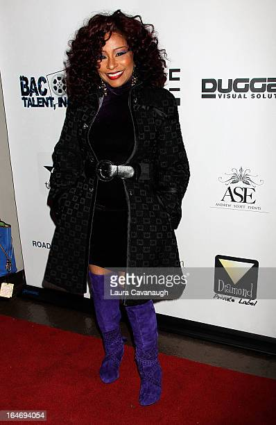 Chaka Khan attends Chaka Khan's Birthday Party on March 26 2013 in New York City
