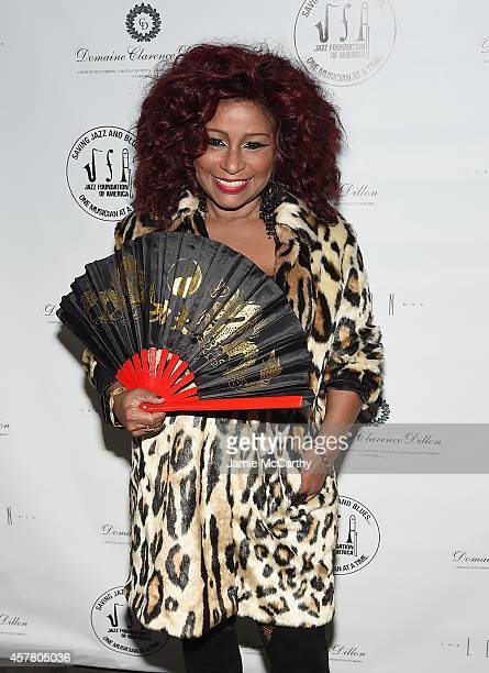 Chaka Khan attends the 13th Annual A Great Night In Harlem Gala Benefiting The Jazz Musicians Emergency Fund at The Apollo Theater on October 24 2014...