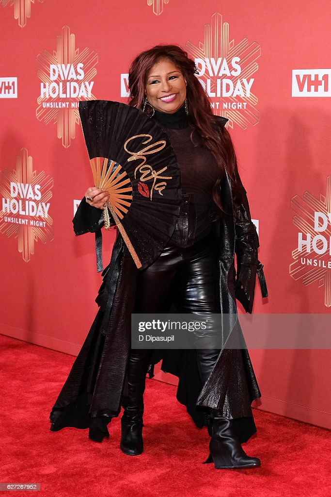 Chaka Khan attends the 2016 VH1 Divas Holiday: Unsilent Night at Kings Theatre on December 2, 2016 in the Brooklyn borough of New York City.
