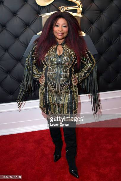 Chaka Khan attends the 61st Annual GRAMMY Awards at Staples Center on February 10 2019 in Los Angeles California