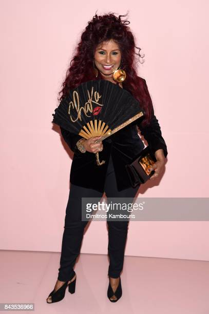 Chaka Khan attends the Tom Ford Spring/Summer 2018 Runway Show at Park Avenue Armory on September 6 2017 in New York City