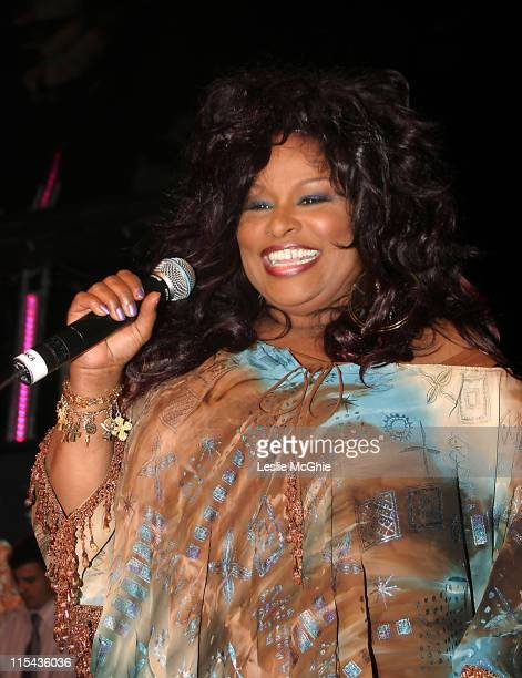 Chaka Khan during Bacardi BLive Night at The ICA at The Institute of Contemporary Arts in London Great Britain